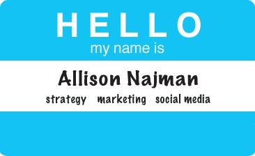 Allison Najman - Strategy, Marketing, Social Media